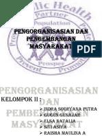 PPT Pengorganisasian Dan Pengembangan Masyarakat