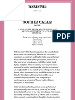 The Believer - Interview with Sophie Calle.pdf