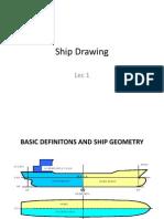 Ship Drawing Lec 1