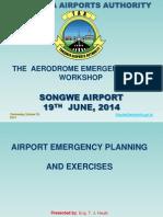 Presentation on Airport Emergency