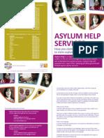 Asylum Help UK Leaflet