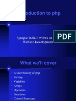 Synapseindia Reviews on Array PHP