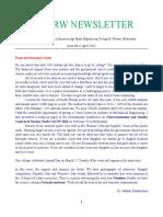 [06] AAR Mahaveer Newsletter April 2012