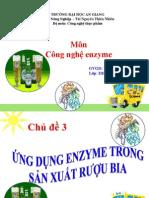 Ứng Dụng Enzyme Trong Sản Xuất Rượu Bia