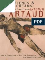 Antonin Artaud Watchfiends Amp Amp Rack Screams