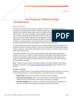 Big Data in the Enterprise - Network Design Considerations