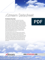 Datasheet XStream Technical Data Sheet 12-6-12 Copy
