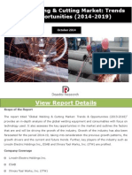 Global Welding and Cutting Market Report - New Report by Daedal Research