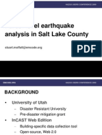 Parcel-level earthquake analysis in Salt Lake County