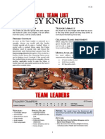 Kill Team List - Grey Knights v3.2b