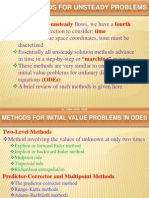 methods for unsteady problem