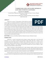 1. Ijhss - Humaities - Effectiveness of Nutrition Education - Rajani