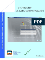 Step-By-Step Windows Server 2008 Installation v1.0