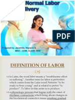 CPG on Normal Labor and Delivery