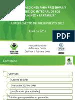 Anteproyecto de Presupuesto 2015 Protección.pdf