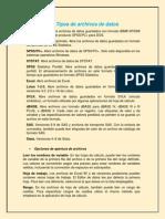 resumen de lectura equipo #5 Tipos de archivos de datos.docx