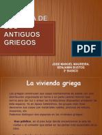 VIVIENDA DE LOS ANTIGUOS GRIEGOS JOSE MANUEL.ppt