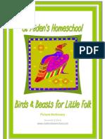 Birds & Beasts for Little Folks