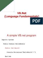 4051907 1 VB NetLanguage Fundamentals
