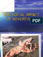The Social Impact of Advertising