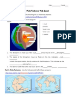 plate tectonics web quest student 1