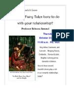 Sammel Fairy Tales Flyer 10-2014