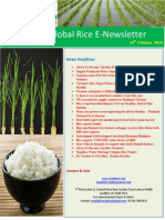 14th October,2014 Daily Global Rice E-Newsletter by Riceplus Magazine