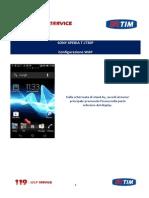 Sony Xperia t Lt30p - Configurazione Wap