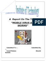 Mobile Virus Report