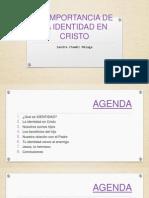 LA IMPORTANCIA DE LA IDENTIDAD EN CRISTO.pptx