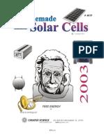 Homemade Solar Cells