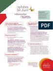 Présentation Des Trophées Junior 2015