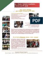 Folklore et traditions en CD, DVD et publications