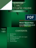multi valve engine