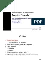 L30 - Statelesss Firewalls