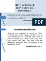 The Davidian or Shepherd's Rod Movement - j