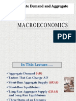 Aggregate Demand & Aggregate Supply