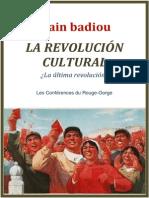 BADIOU, Alain - China, La Revolucion Cultural.pdf