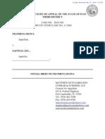 Filomena Ruffa v. SaftPay - Initial Brief