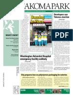 Takoma Park Newsletter - October 2014