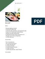 resep makanan jepang