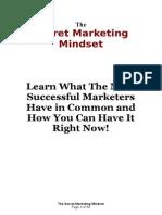The Secret Marketing Mindset