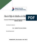 PLAN DE VIAJE DE ESTUIOS - ESTUDIANTES.doc