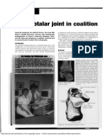 Stelmach (2003) - The Subtalar Joint in Coalition