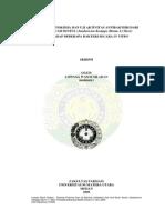 Fitokimia Dan Aktivitas Antibakteri Dari Kulit Buah Sentul (Sandoricum Koetjape) Terhadap Beberapa Bakteri Secara in Vitro