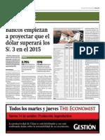 Bancos empiezan a proyectar dólar superará los 3 soles el 2015_Gestión 15-10-2014.pdf