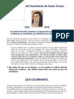 V centenario del nacimiento de Santa Teresa.docx