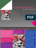 Magazine Analysis Powerpoint