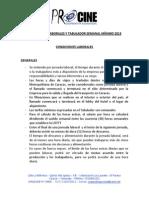 Condiciones Laborales y Propuesta de Tabulador Mínimo 2013.pdf