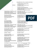 Vivir mi vida Lyrics in Both Spanish and English